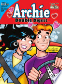 Archie Double Digest #227 : of a car covered in advertisements of her...
