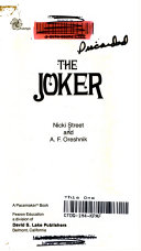 Ebook The Joker Epub Nicki Street,A. F. Oreshnik,Ramon Porcuna Apps Read Mobile