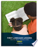 First Language Lessons for the Well Trained Mind  Level 1  Second Edition   First Language Lessons
