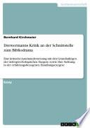Drewermanns Kritik an der Schnittstelle zum Bibliodrama