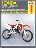 Honda Cr Motocross Bikes Owners Workshop Manual