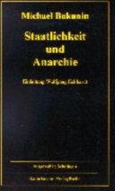 Staatlichkeit und Anarchie