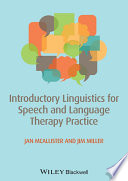 Introductory Linguistics for Speech and Language Therapy Practice