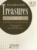 Rubank Treasures for Oboe: Book with Online Audio (Stream Or Download)