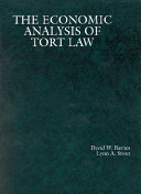 The Economic Analysis of Tort Law