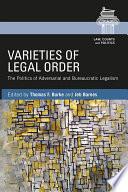 Varieties of Legal Order