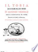 Dissertazioni e lezioni di sacra scrittura pubblicate da Alfonso Niccolai della Compagnia di Ges       Tomo primo   12