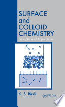 Surface And Colloid Chemistry