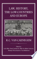 Law  History  the Low Countries and Europe
