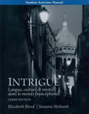Student Activities Manual For Intrigue