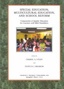 Special education  multicultural education  and school reform