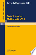 Combinatorial Mathematics VIII