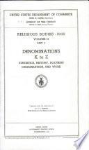 Religious bodies: 1936 ...