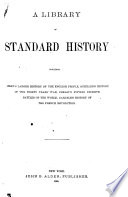 A Library of Standard History