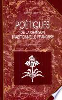 Poétiques de la chanson traditionnelle française
