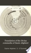 Translation of the Divina Commedia of Dante Alighieri
