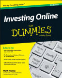 download ebook investing online for dummies pdf epub