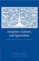 Scripture  Culture  and Agriculture
