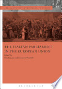 The Italian Parliament In The European Union