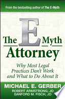 The E Myth Attorney book
