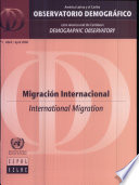 Ebook Latin America and the Caribbean Demographic Observatory: International Migration (Includes Chart and CD-ROM) Epub United Nations Publications Apps Read Mobile