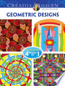 Creative Haven GEOMETRIC DESIGNS Coloring Book
