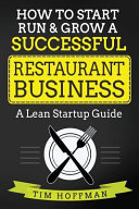 How to Start  Run   Grow a Successful Restaurant Business