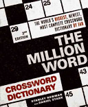 The Million Word Crossword Dictionary  2nd Edition