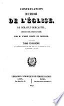 Continuation de l'Histoire de l'église de Bérault-Bercastel, depuis 1721 jusqu'en 1830
