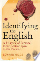Identifying the English In Britain And This Book Looks At Why