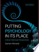 Putting Psychology In Its Place 3rd Edition