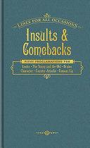 Insults   Comebacks