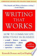 Writing That Works  3e