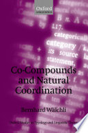 Co Compounds And Natural Coordination