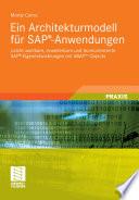 Ein Architekturmodell für SAP®-Anwendungen