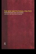 The New Institutional Politics