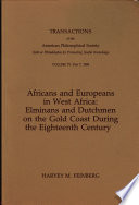 Africans And Europeans In West Africa