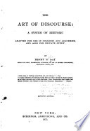 The Art Of Discourse book
