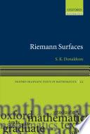 Riemann Surfaces