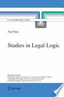 Studies in Legal Logic
