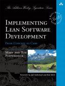 Implementing Lean Software Development