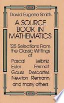 A Source Book in Mathematics
