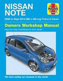 Nissan Note Petrol And Diesel 06 Sept 13 06 To 63
