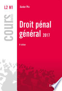 Droit P Nal G N Ral 2017