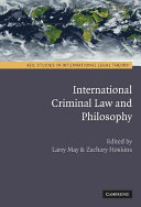 International Criminal Law and Philosophy