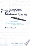 Yours Faithfully  Bertrand Russell