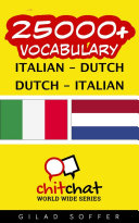 download ebook 25000+ italian - dutch dutch - italian vocabulary pdf epub