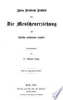 Friedrich Fröbel's Gesammelte pädogogische schriften