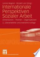 Internationale Perspektiven Sozialer Arbeit