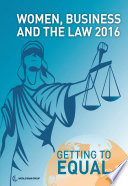 Women  Business and the Law 2016